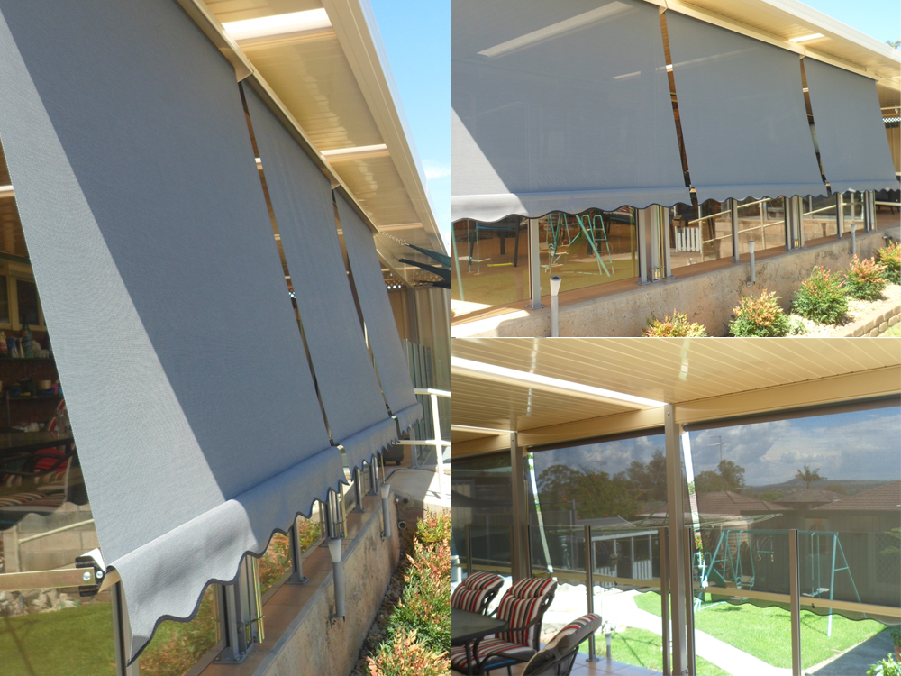 Automatic Lock Arm Awnings With Five Different Styles By