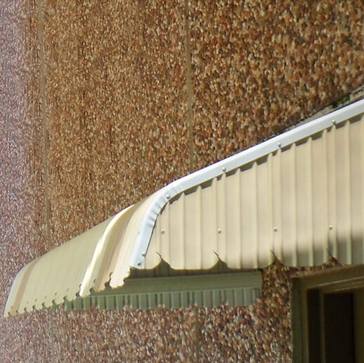 Colourbond Steel Fixed Awnings