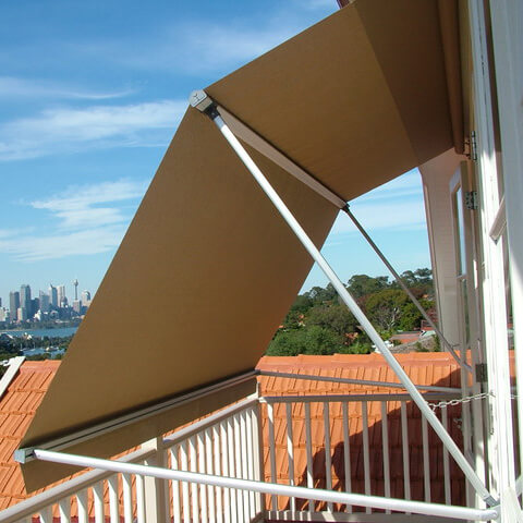 Casement Window Awnings