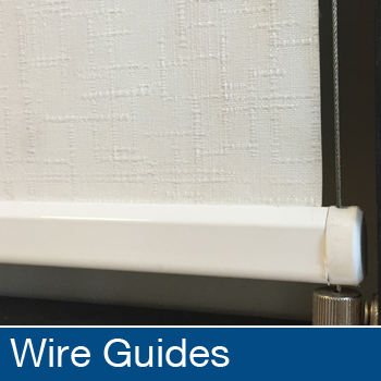 Roller Blinds Wire Guides
