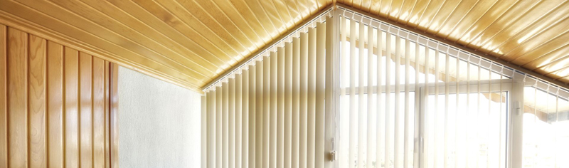 Sloping Vertical Blinds