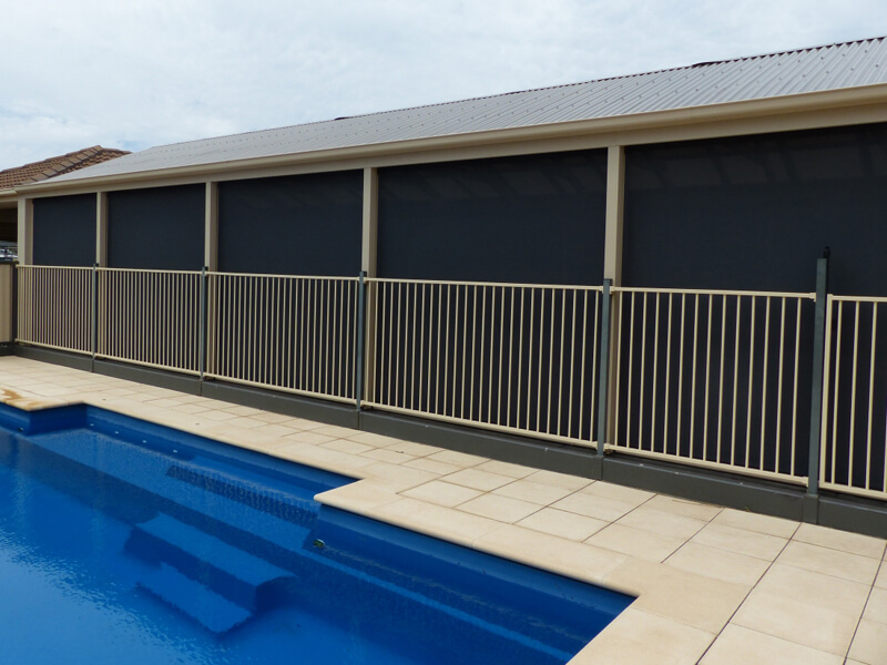 Ziptrack Outdoor swimming pool