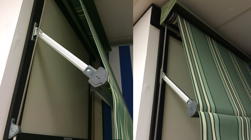 Flexi Fit Pivot Arm Awnings