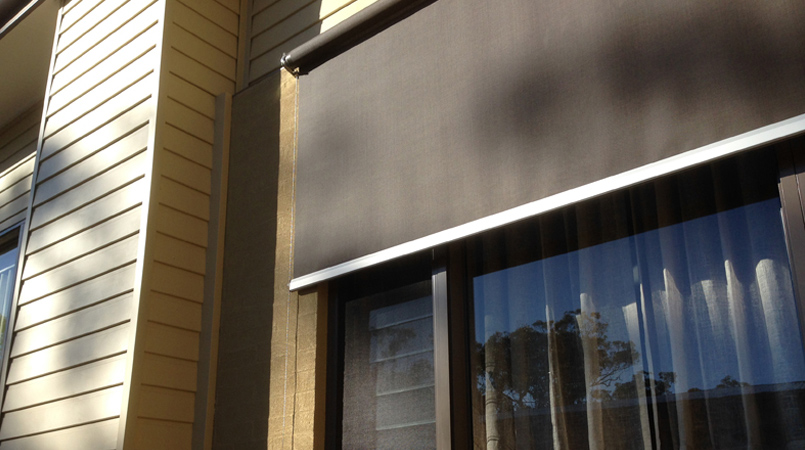 Motorised Wire Guide Awnings