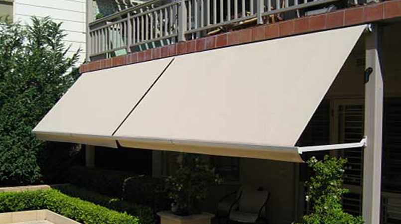 Gear operated Pivot Arm Awnings