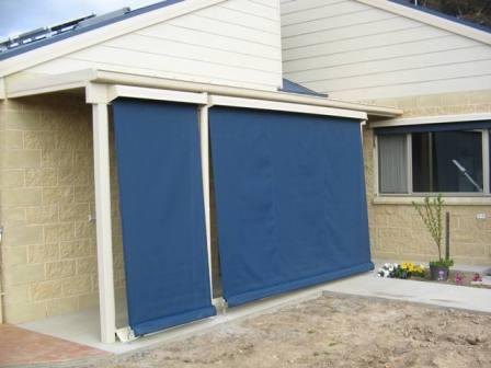 Straight Drop Awnings Super Quality Made By Apollo Blinds