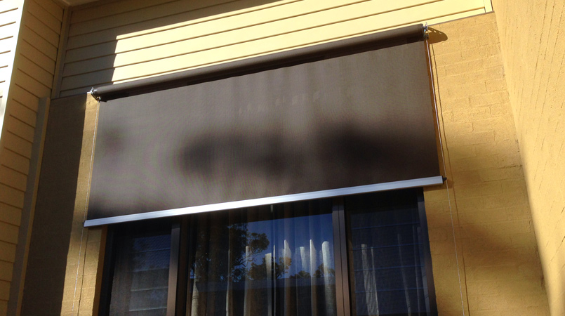 Wire Guide Awnings