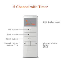 5 channel with timer
