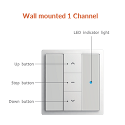 Wall mounted-1 channel